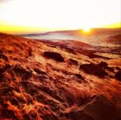 Marsden Moor, on the 60km route