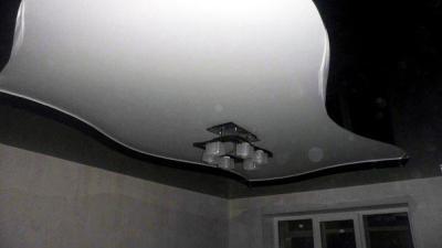 Двухуровневые натяжные потолки (12)