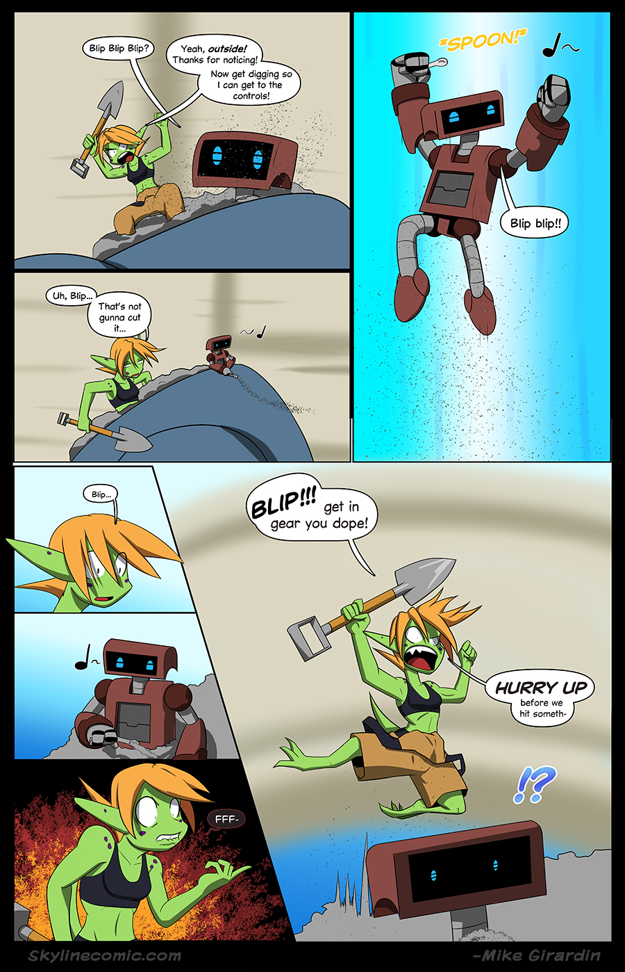 Journey to the Skyline Issue 01 Pg 03