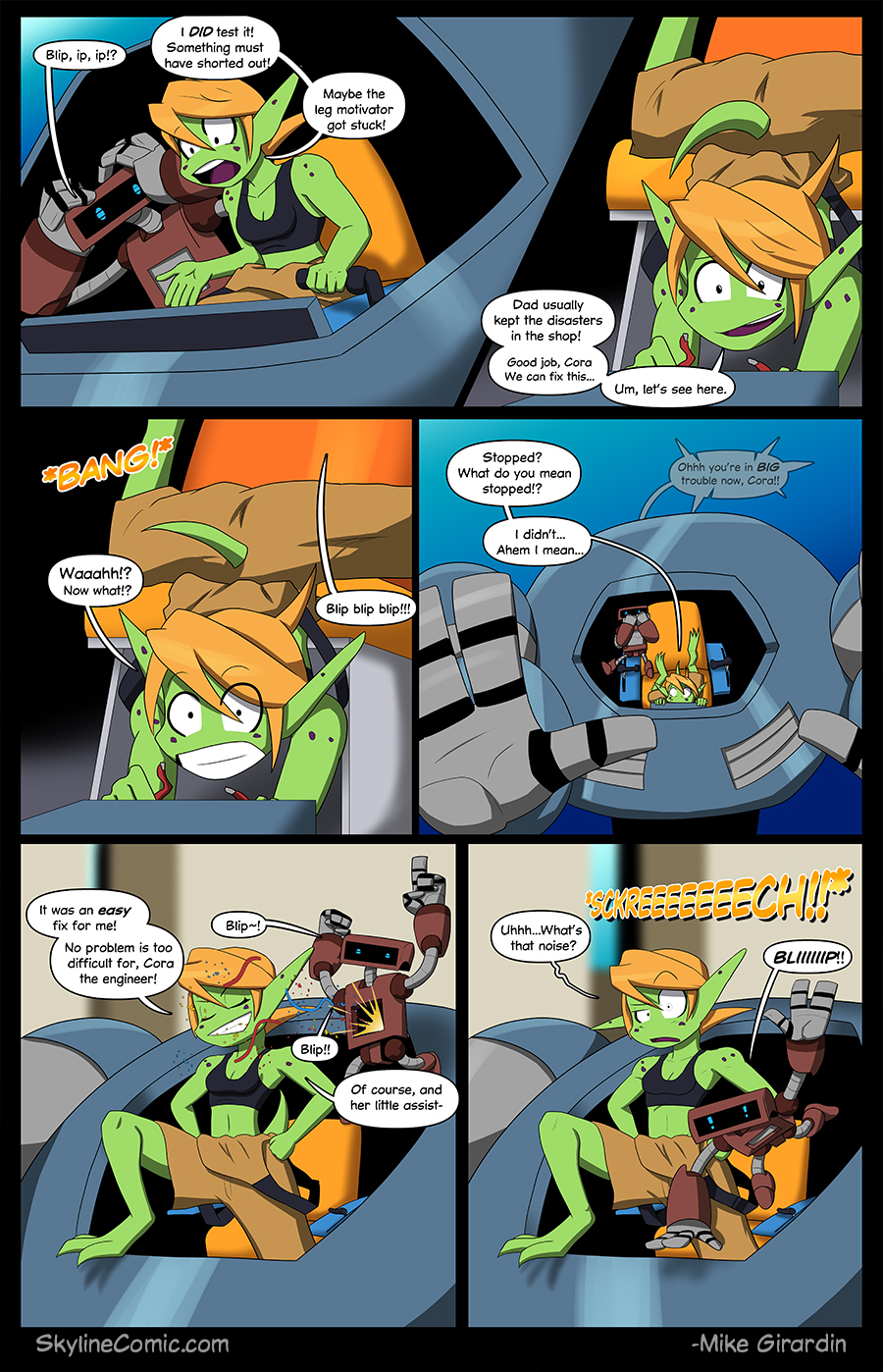 Journey to the Skyline Issue 01 Pg 06