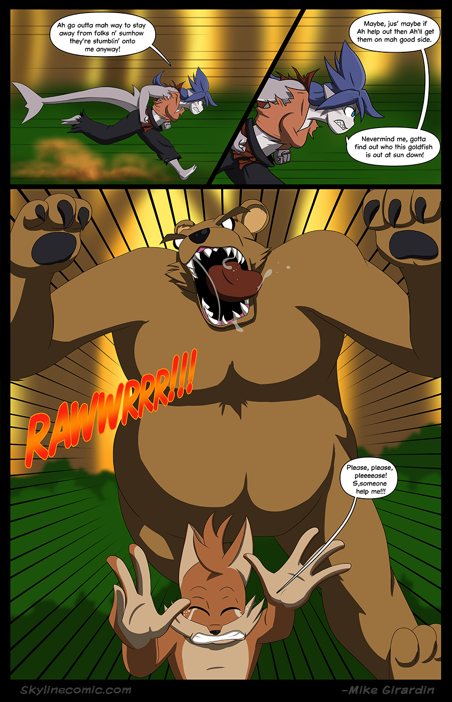 Journey to the Skyline Issue 01 Pg 14