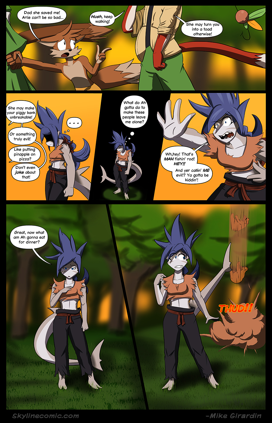 Journey to the Skyline Issue 01 Pg 17
