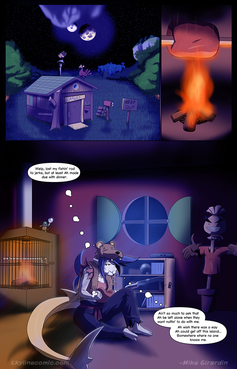 Journey to the Skyline Issue 01 Pg 22