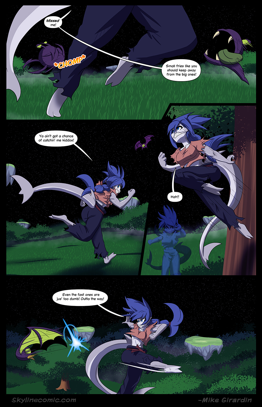 Journey to the Skyline Issue 02 Pg 05
