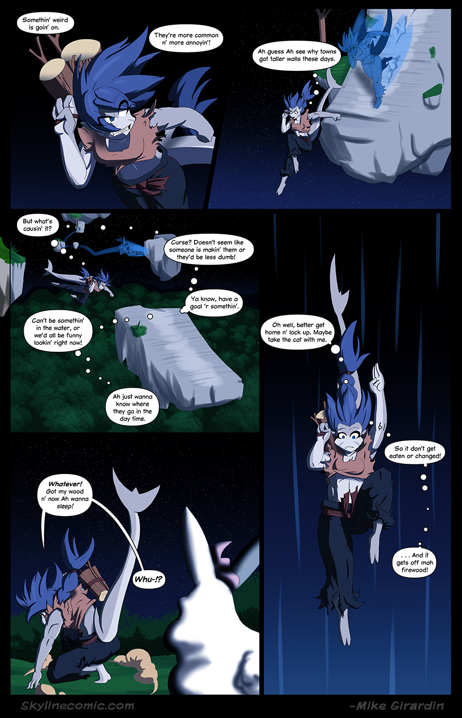 Journey to the Skyline Issue 02 Pg 07