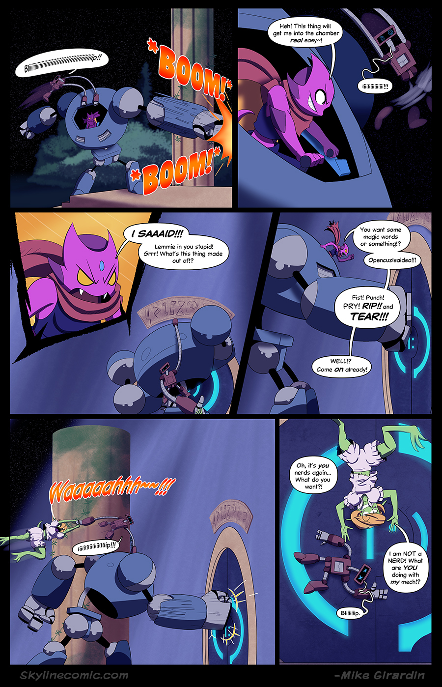Journey to the Skyline Issue 02 Pg 18