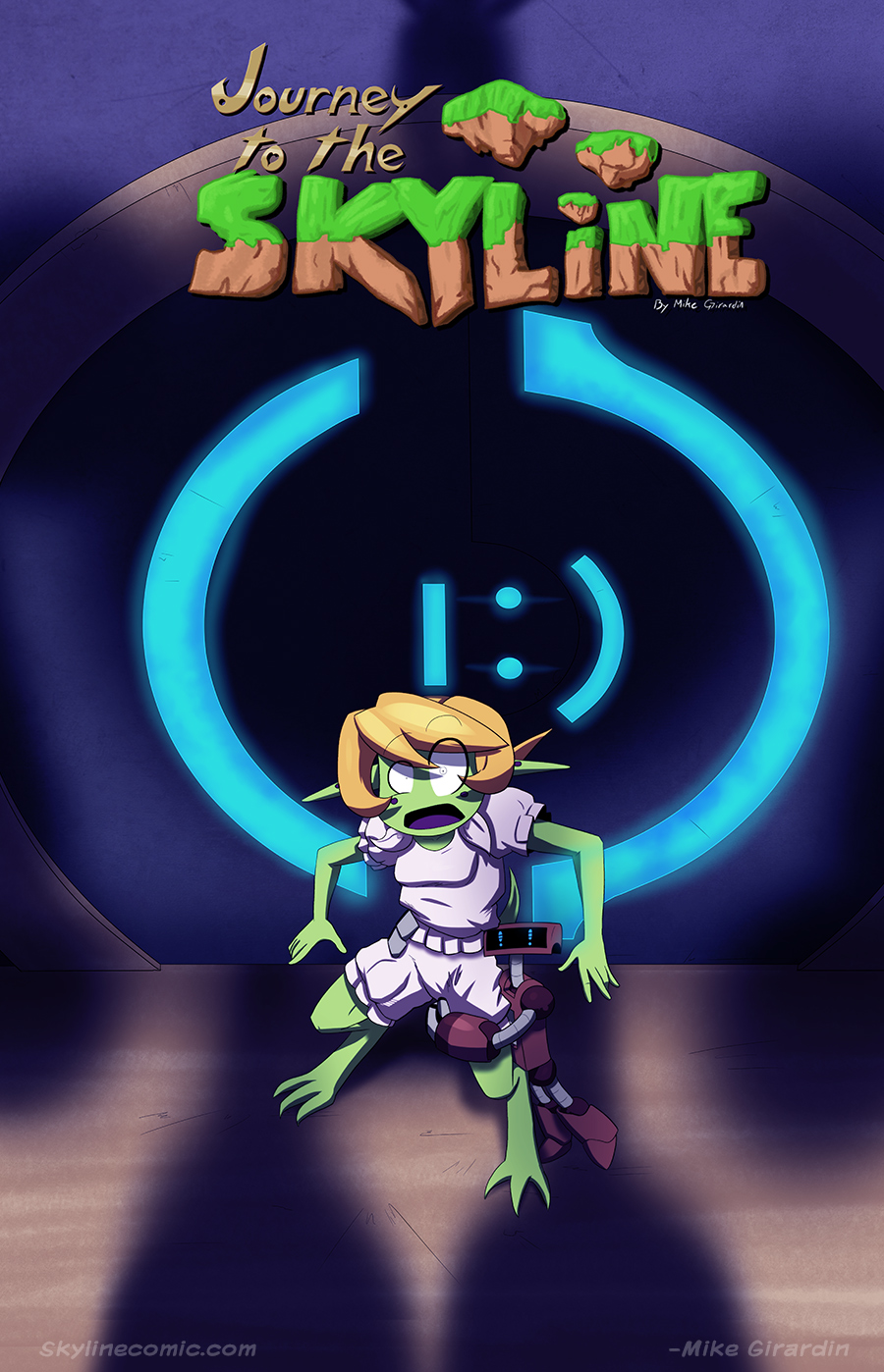 Cover to Journey to the Skyline issue 02