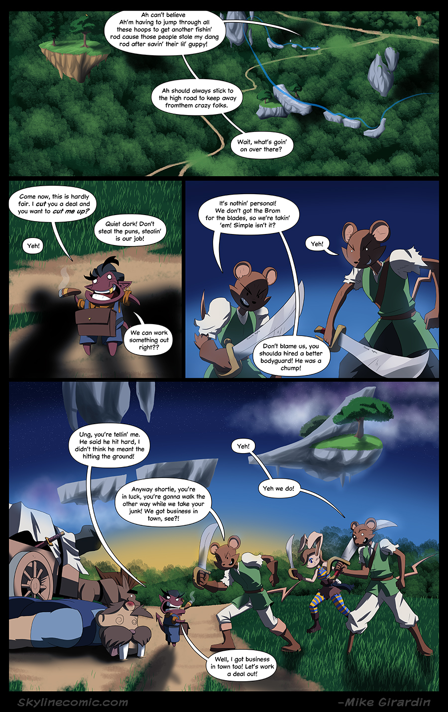 Journey to the Skyline Issue 03 Pg 11