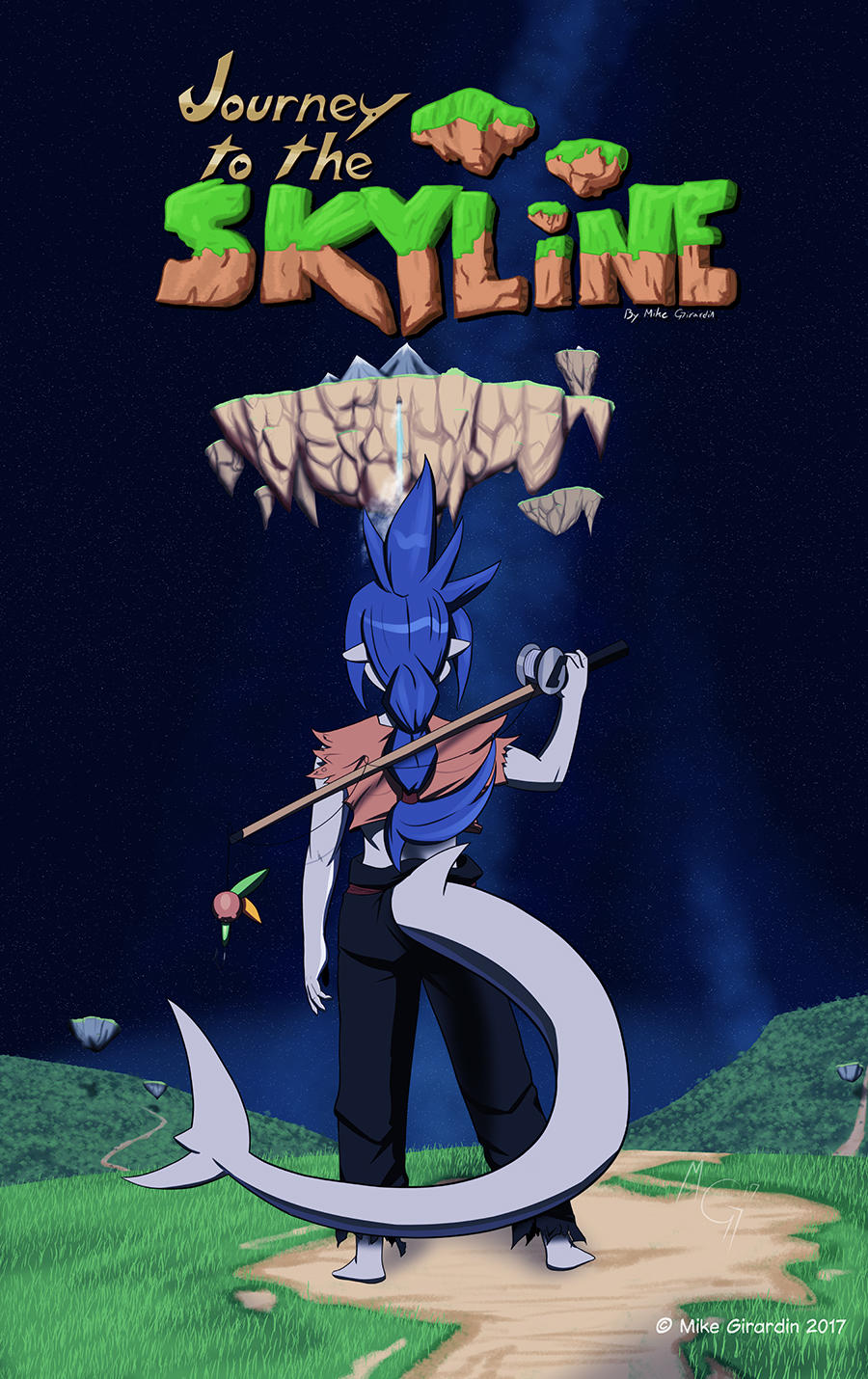 Journey to the Skyline issue 03 cover