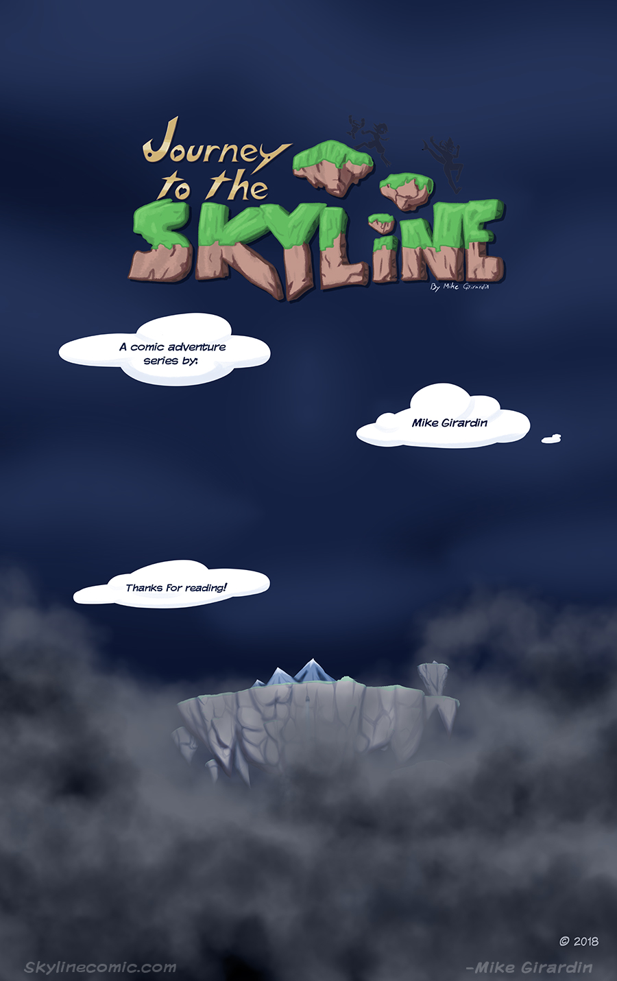 Journey to the Skyline issue 04 credits