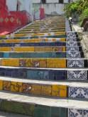 Stairs of Santa Tereza