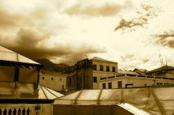 Historic Quito (from the roof)