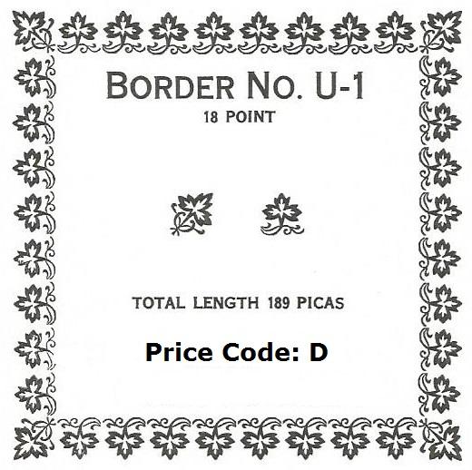 STF Border No. U-1