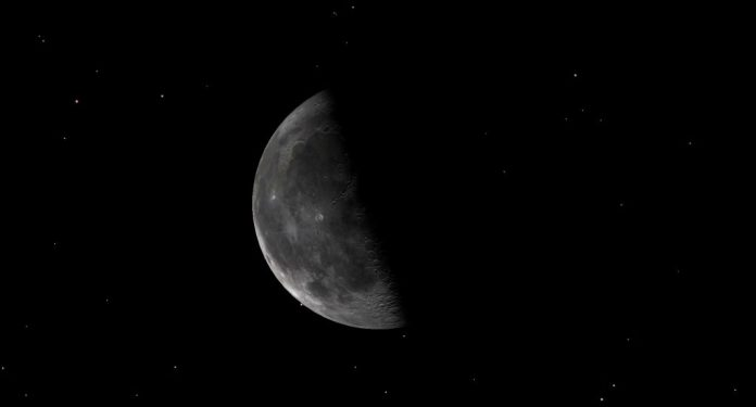 A diagram of the third quarter Moon on June 2, 2021.   Astronomy news & night sky events   SkyNews