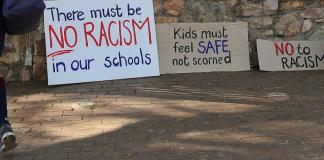 South Africa investigates racist classroom photo, teacher suspended
