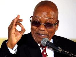 Former president Zuma signs controversial record deal