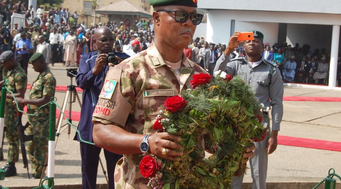 [Photo]: Nigeria's Armed Forces Remembrance Day
