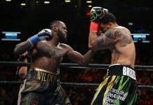 Wilder retains WBC heavyweight title with brutal first round KO