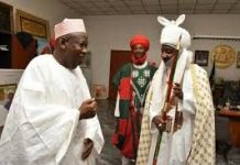 Sanusi blocks Ganduje from sacking him