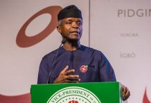 Nigeria's VP Osinbajo on June 12 as Democracy Day