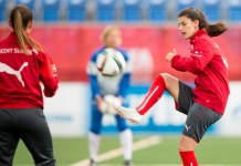 Swiss women's football team player missing after swimming accident