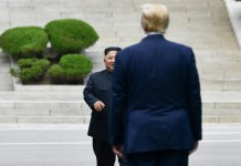 Trump steps into North Korea in historic first
