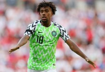 A rising Nigerian football star, Alex Iwobi's profile