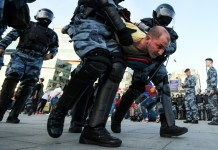 1,400 arrested at Moscow election protest: monitor