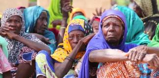 """During the mission, senior officials visited several camps for internally displaced civilians in Maiduguri and some of the towns mostly affected by the crisis in Borno State including Damboa, Dikwa, and Rann. They met communities affected by the conflict to better understand their needs. Women and children make up 80 percent of the people who are internally displaced. The violence continues to disrupt livelihoods, deepening threats like food insecurity, malnutrition and epidemics in affected communities. About 7.1 million people need life-saving assistance across the states of Borno, Adamawa and Yobe, while nearly 3 million are facing food insecurity. Camps are also overcrowded due to lack of adequate shelter, increasing the risk of disease outbreaks. """"What we need the most is food, shelter, health facilities, toilets and education for our children. That is what we need,"""" said Garba, a displaced civilian. The United Nations and its partners appealed for $848 million to provide assistance to 6.2 million people in 2019. So far the response plan has received 32.6 percent of needed funding."""