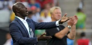 Nigeria football body backs Samson Siasia after FIFA life ban