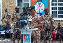 Nigeria's Military taskforce arrests 23 criminals, cultists