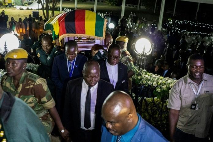 Mugabe's family and govt wrangle over Zimbabwe burial