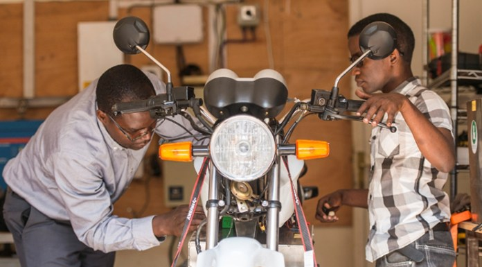 Rwandans switching from petrol to electric motorcycles