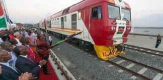 Kenya opens second phase of modern railway