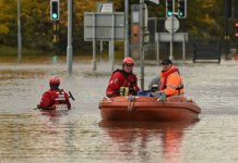 UK weather: Body pulled from floodwater, 'danger to life' warnings in place