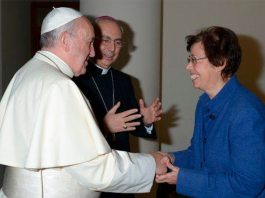sky news africa First woman appointed to top Vatican post