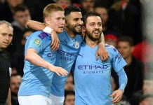 skynewsafrica Job only half done for Guardiola as Man City outclass Man Utd