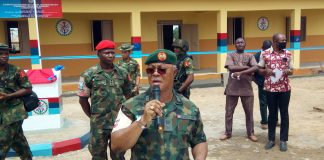 skynewsafrica Military Taskforce donates two blocks of classrooms, in Nigeria's Plateau