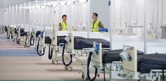 skynewsafrica London Nightingale hospital to go 'on standby' as no new admissions expected