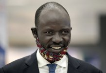 sky news africa South Sudan activist flees to US, says Kiir wanted him dead