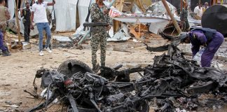 sky news africa At least two dead in suicide bombing in Mogadishu