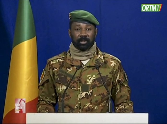 sky news africa Mali's junta leader to be veep of transitional government