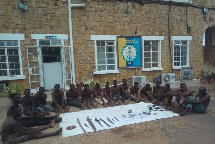 sky news africa Phone snatchers, cultists, fake soldier caught by Nigeria's Military taskforce