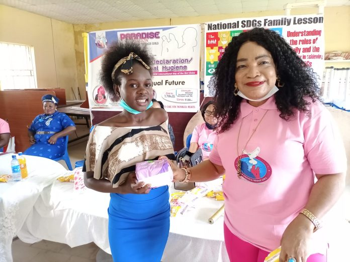 sky news africa Menstrual cycle is not a death sentence, NGO tasks teenagers