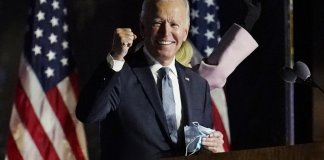 sky news africa Biden wins White House, vowing new direction for divided US