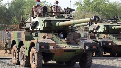 sky news africa Chad's army says 300 rebels killed as capital is on alert