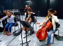 Ana María, Angélica y Kayrusan