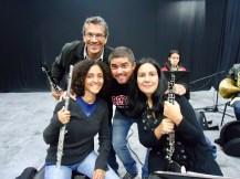 Alejandro, María Gabriela, Justo y Laura