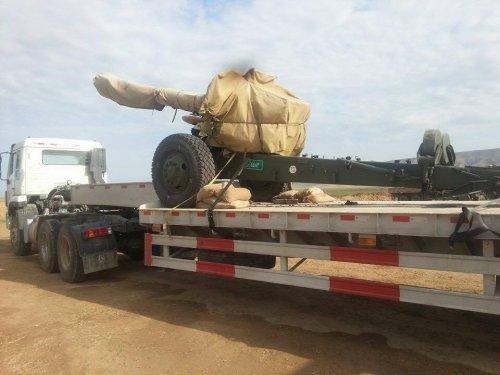بالصور.. وصول أعداد من المدفعية الثقيلة والراجمات الإنبوبية لقيادة عمليات تحرير نينوى