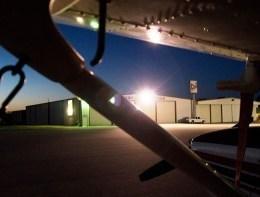Airport Ramp at night